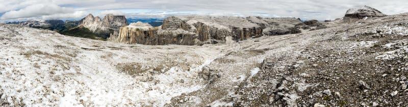 Panorama de dolomites photo libre de droits