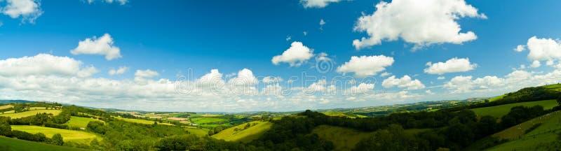 Panorama de Dorset Inglaterra fotos de stock royalty free