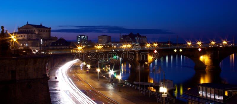 Panorama de Dresden foto de archivo libre de regalías