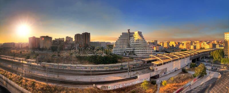 Panorama de Entrecampos foto de stock royalty free