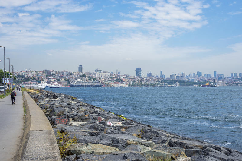 Download Panorama de Estambul foto de archivo. Imagen de puente - 41912896