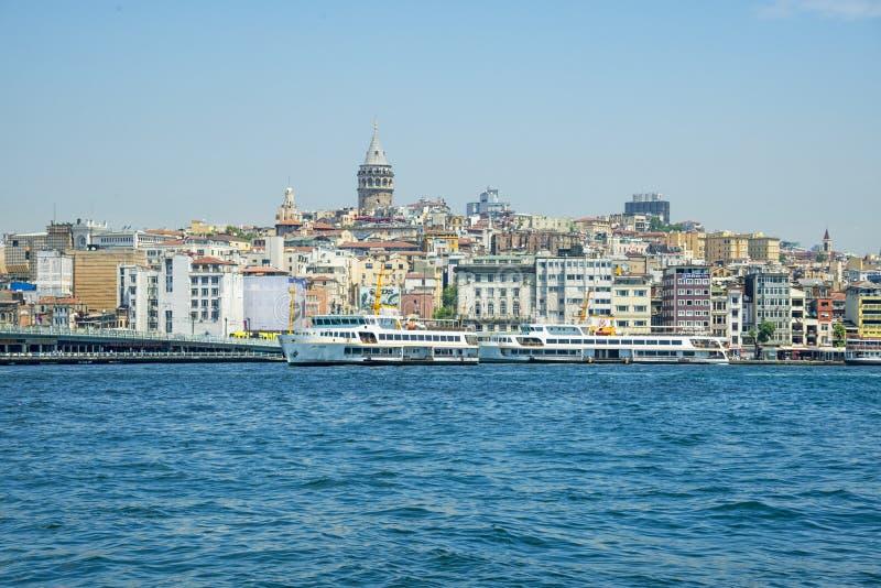 Download Panorama de Estambul foto editorial. Imagen de urbano - 41912921