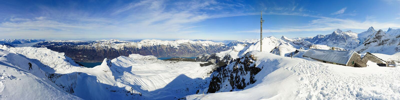 Panorama de Faulhorn photo stock
