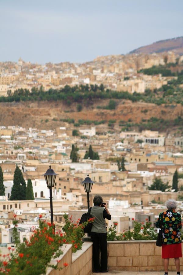 Panorama de Fes #6 fotografía de archivo