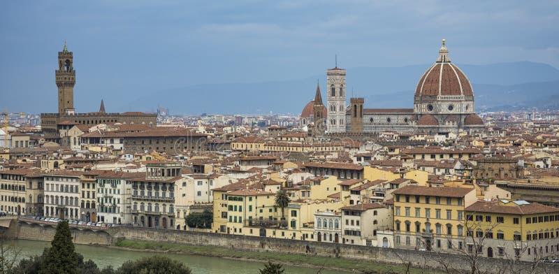 Panorama de Florença foto de stock