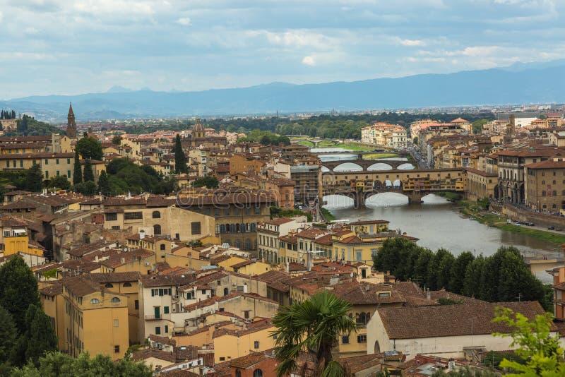 Panorama de Florença fotografia de stock