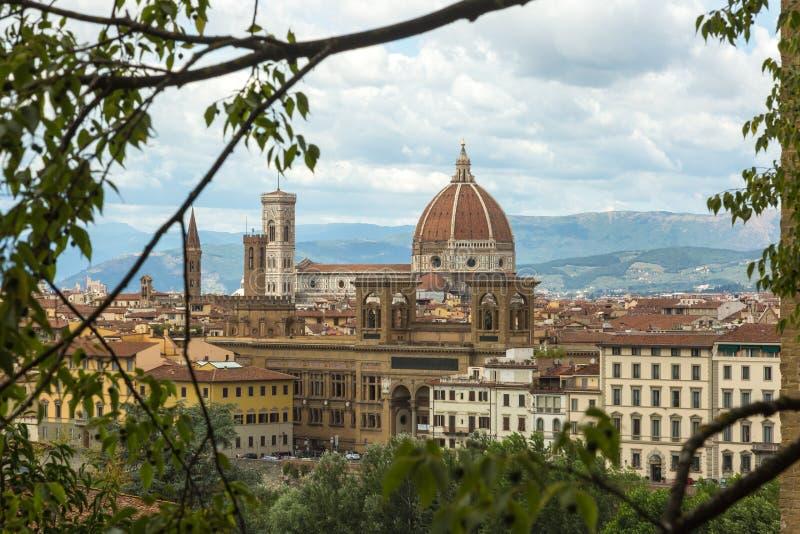Panorama de Florença imagens de stock royalty free