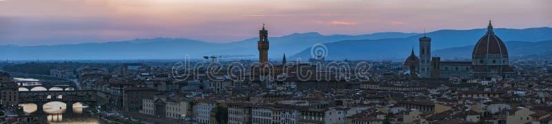 Panorama de Florence photos stock