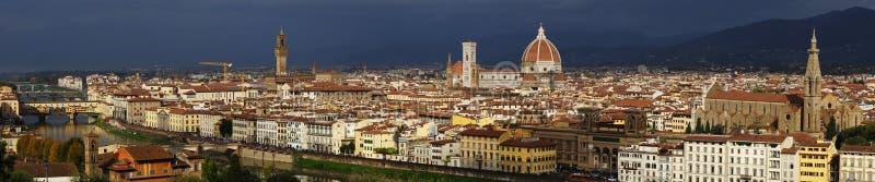 Panorama de Florence, Italie photos stock