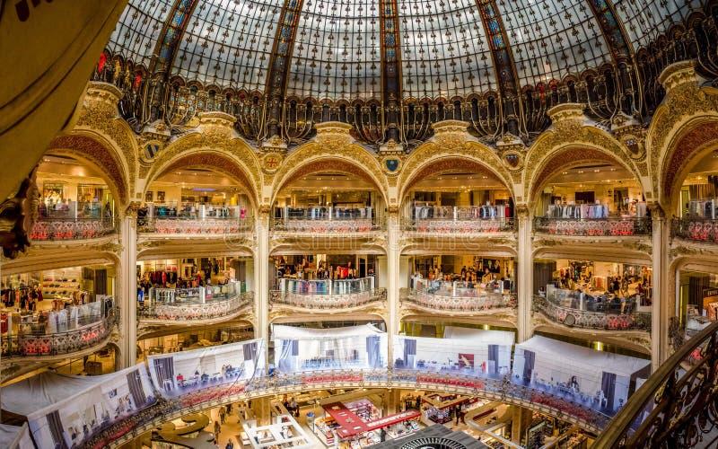 Panorama de galeries de Lafayette images stock