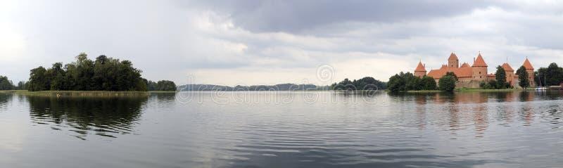 Panorama de Galve do lago fotos de stock