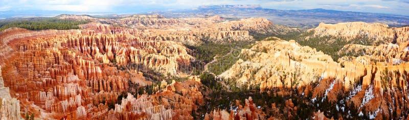 Panorama de gorge de Bryce photo stock