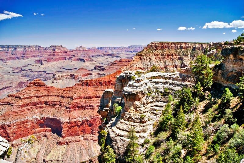 Panorama de gorge grande photo libre de droits