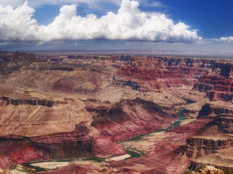 Panorama de gorge grande photos libres de droits