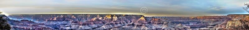 Panorama de gorge grande photo stock