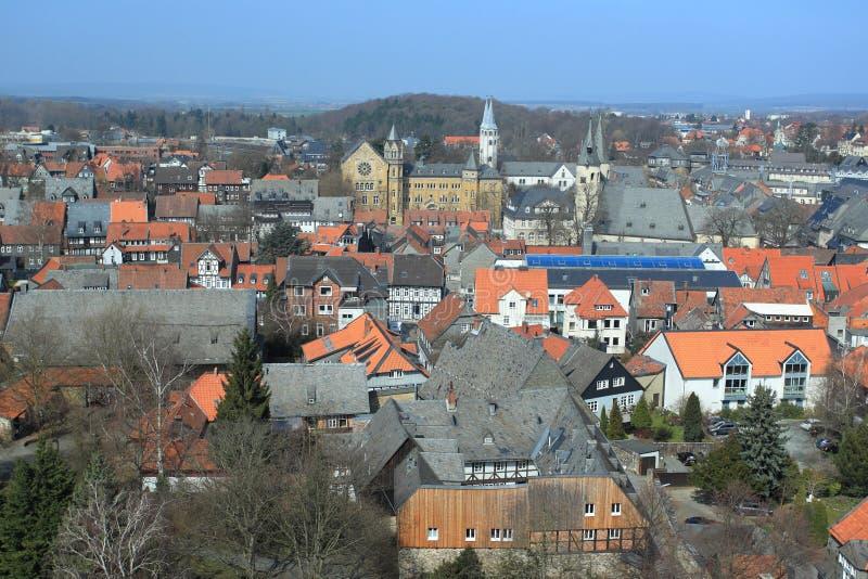 Panorama de Goslar fotografía de archivo libre de regalías