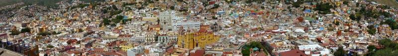 Panorama de Guanajuato imagem de stock