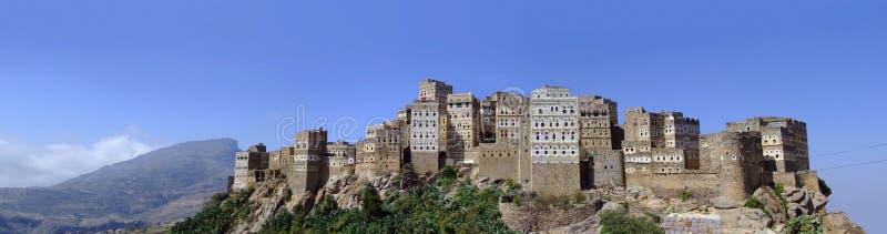 Panorama de Hajjara do Al foto de stock