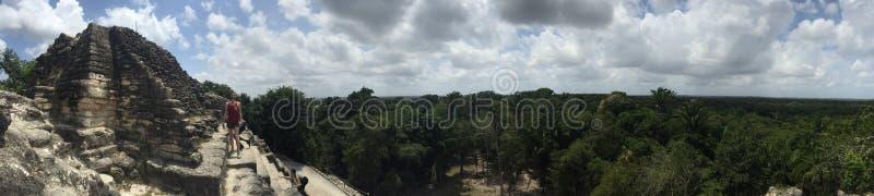 Panorama de haut temple photos stock