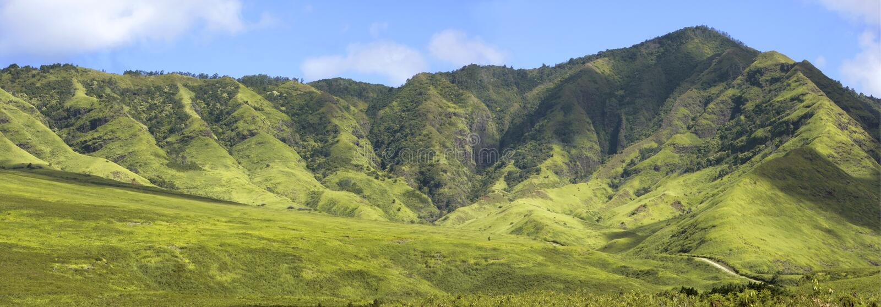 Panorama de Hawiian image stock