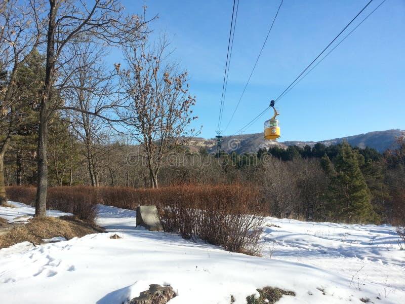 Panorama de horizont caucasien photographie stock libre de droits