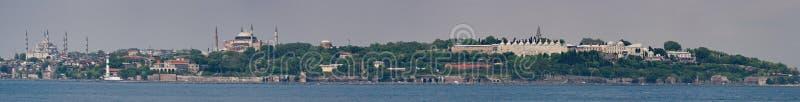 Panorama de Istambul fotos de stock royalty free