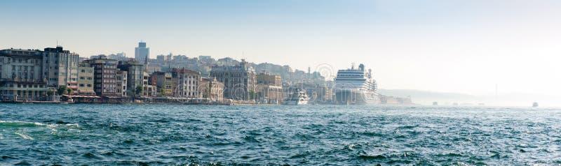 Panorama de Istambul imagens de stock