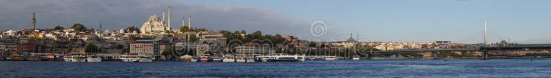 Panorama de Istambul foto de stock