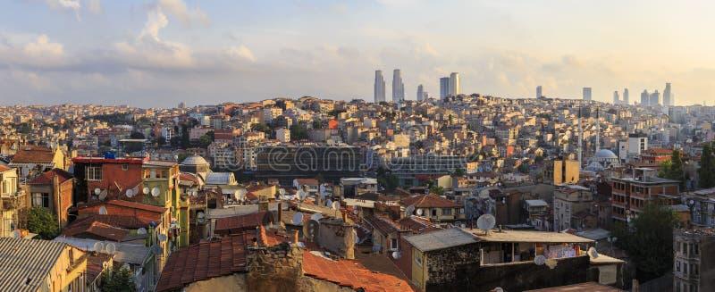 Panorama de Istambul Taksim Turquia foto de stock royalty free