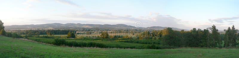 Panorama de Jelenia Gora foto de archivo libre de regalías