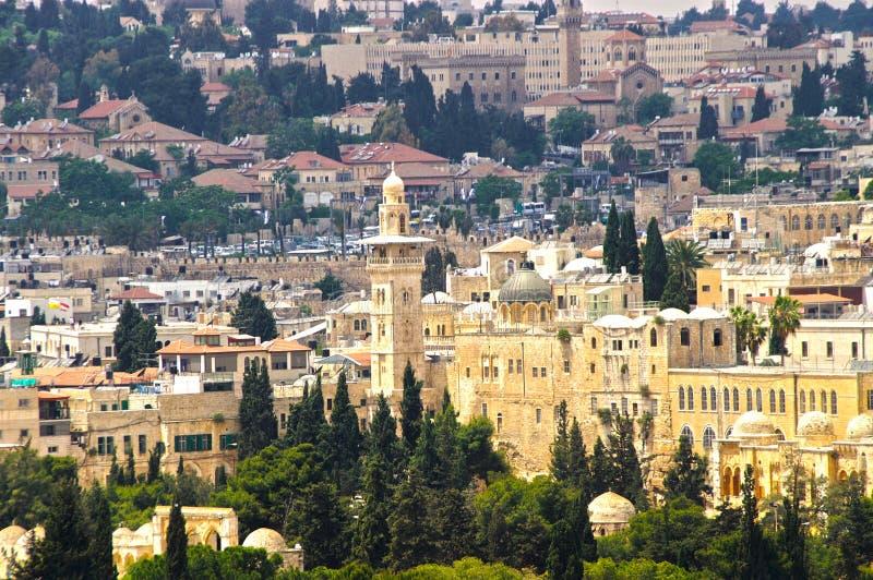Panorama de Jerusalem 3 foto de stock royalty free