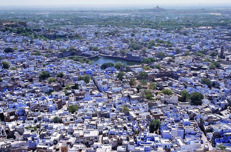 Panorama de Jodhpur photo stock