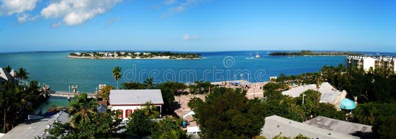Panorama de Key West imagens de stock royalty free