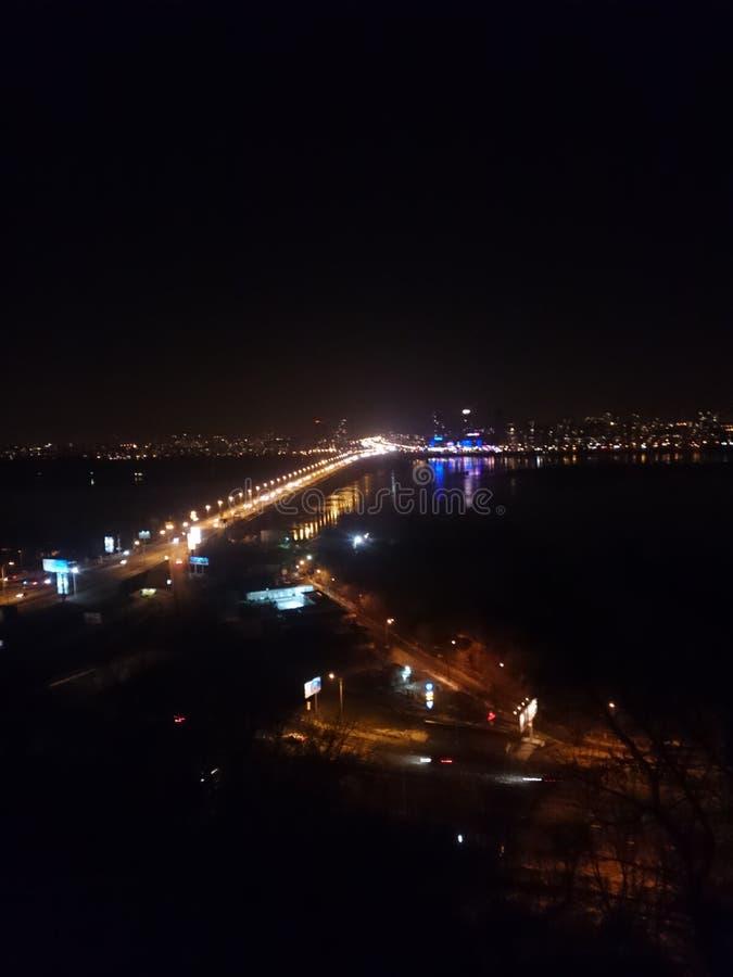 Panorama de Kiev fotos de archivo