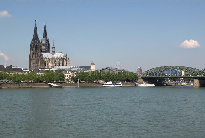 Panorama de Koeln imagen de archivo