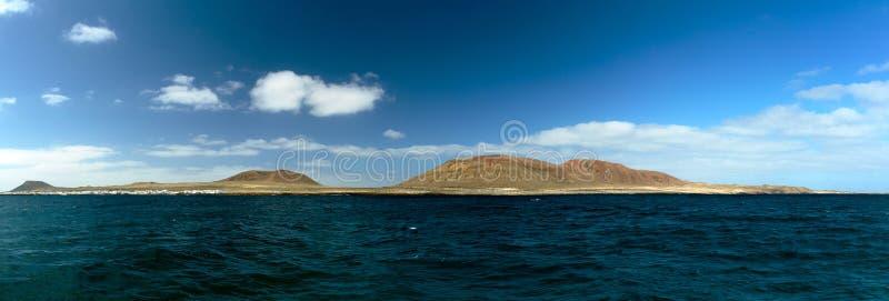 Panorama de la isla imagen de archivo
