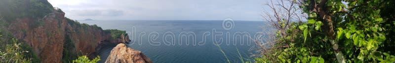 Panorama de la isla fotos de archivo libres de regalías