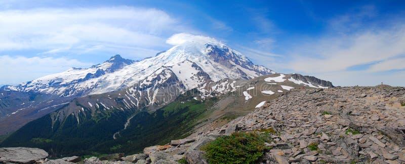 Panorama de la montaña de Burroughs foto de archivo libre de regalías