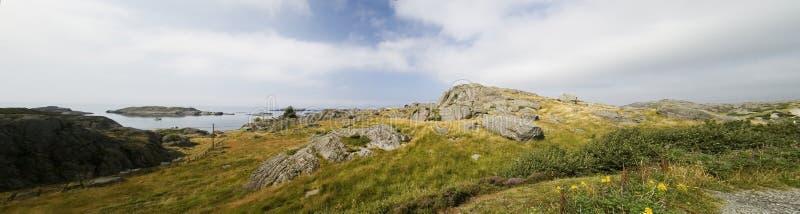 Panorama de la montaña, Noruega imagenes de archivo