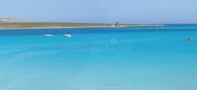 Panorama de la playa fotos de archivo libres de regalías