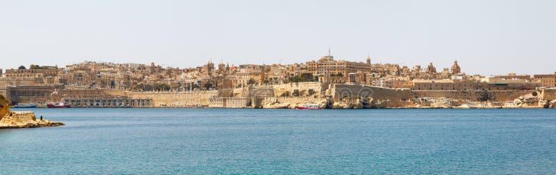 Panorama de La Valette Malte 2013 photographie stock libre de droits