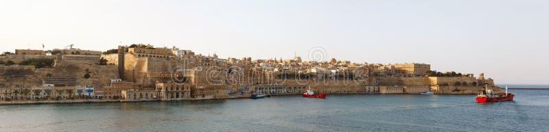 Panorama de La Valette Malte 2013 photos stock
