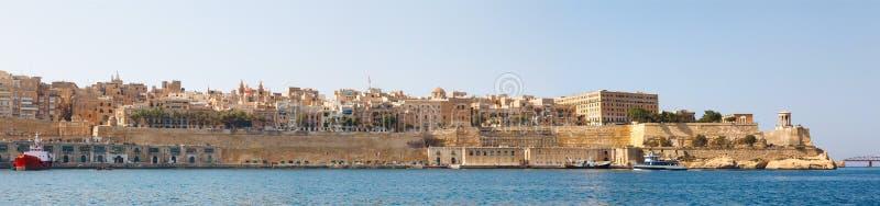 Panorama de La Valette Malte 2013 images stock