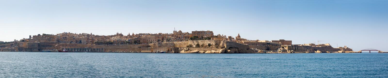 Panorama de La Valette Malte 2013 photographie stock