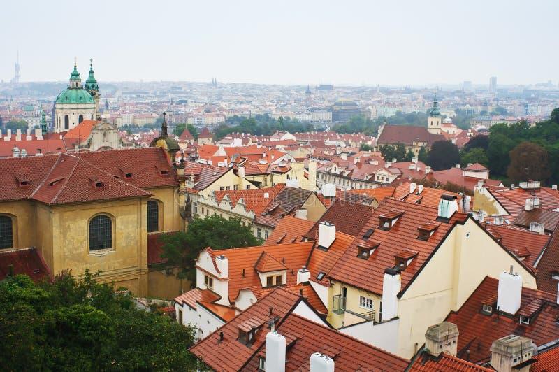 Panorama de la vieille ville à Prague photo stock
