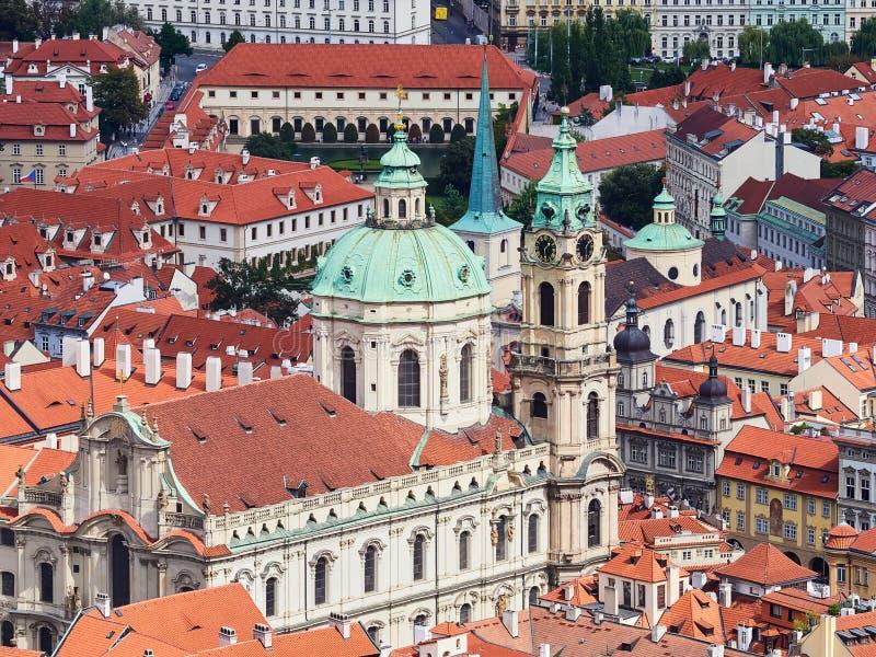 Panorama de la vieille ville à Prague, République Tchèque photo libre de droits