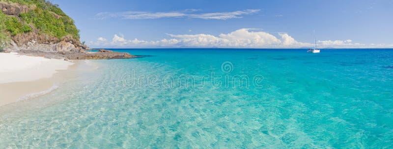 Panorama de lagune photo libre de droits