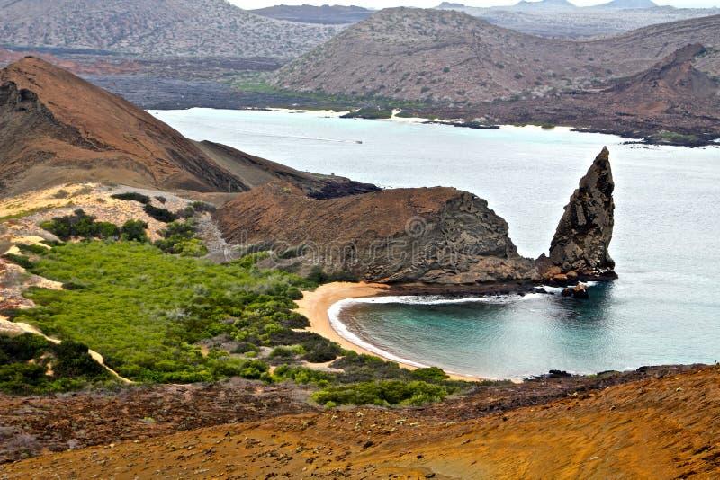 Panorama de las Islas Galápagos foto de archivo libre de regalías