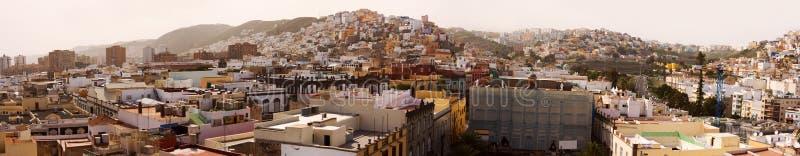 Panorama de Las Palmas images libres de droits