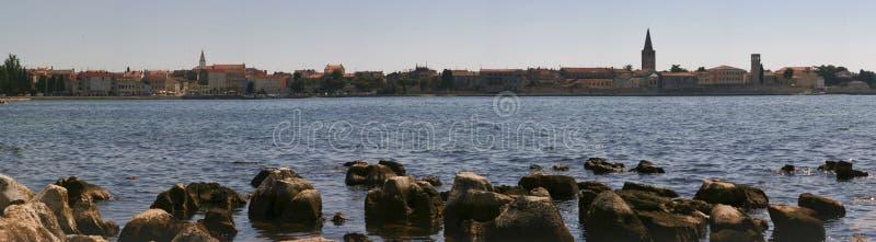 Panorama de las pulas, Croatia. fotos de archivo libres de regalías